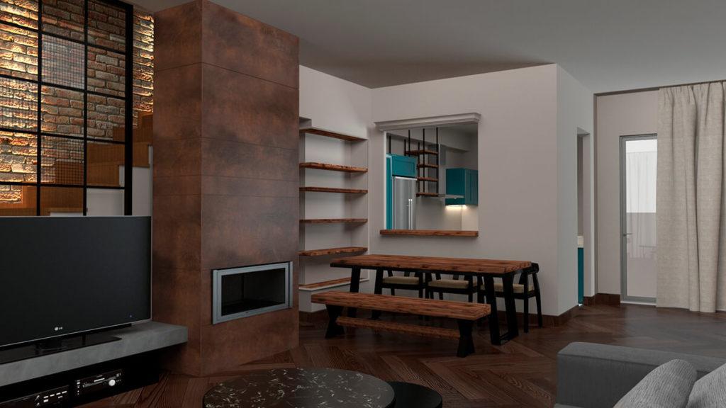 Residence in Peristeri
